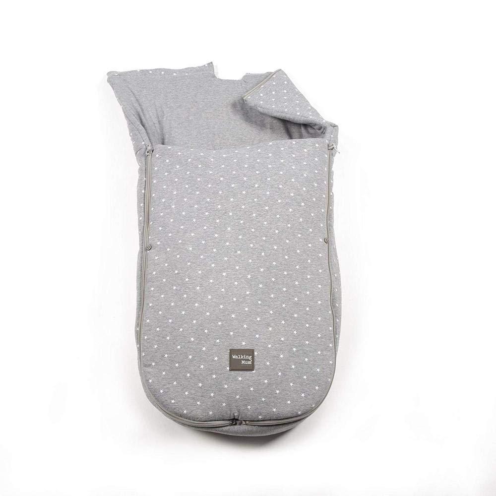 Saco universal gaby para cuco//grupo 0 gris Walking Mum