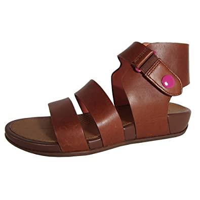1847cf45a9f5 Fitflop Gladdie Sandals Tan 6 UK  Amazon.co.uk  Shoes   Bags