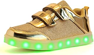 MhC Chaussures pour Femmes synthétiques Automne/Hiver Light Up Chaussures Sneakers LED pour Or/Argent / Rose/Mariage
