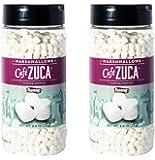 Twang Café Zuca Dehydrated Mini Marshmallows, Coffee Topping, 2.6oz - 2 pack