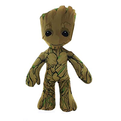 "Guardians of The Galaxy 9"" Baby Groot Plush: Toys & Games"