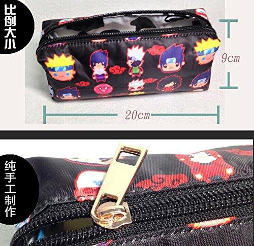Naruto SHIPPUDEN Uzumaki Kyuubi Anime Bag Pencil case Mobile