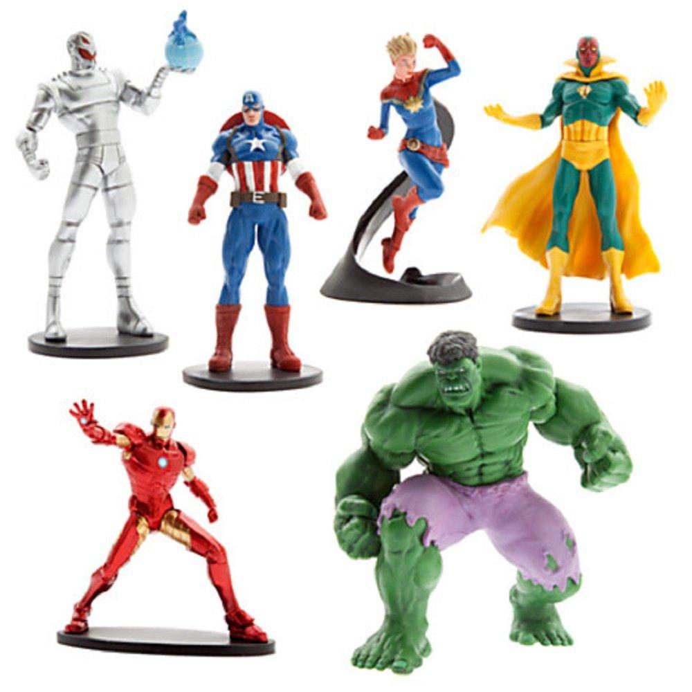 Disney Marvel Avengers 2 - 6 Piece Figure Play Set with Ultron