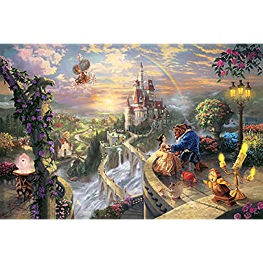 Van Eyck Beauty and the Beast Prints on Canvas Linen Cartoon Pictures for Living Room Art Wall Decor Thomas Paintings Disne Prints Unframed