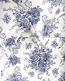 Where to Buy Duvet Covers Melange Home LLC 189779 Toile Duvet Set 3Piece Toile Queen Duvet Set, Navy