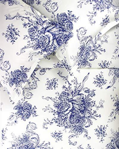 Mélange Home Melange Home 189786 Duvet Set, King, Navy -