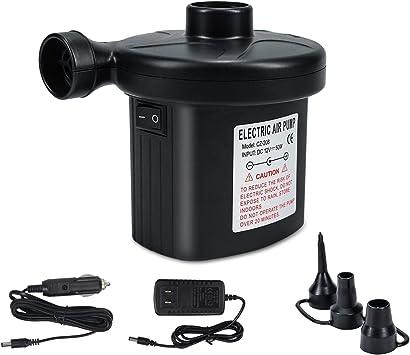 Amazon.com: Bomba de aire eléctrica portátil de llenado ...