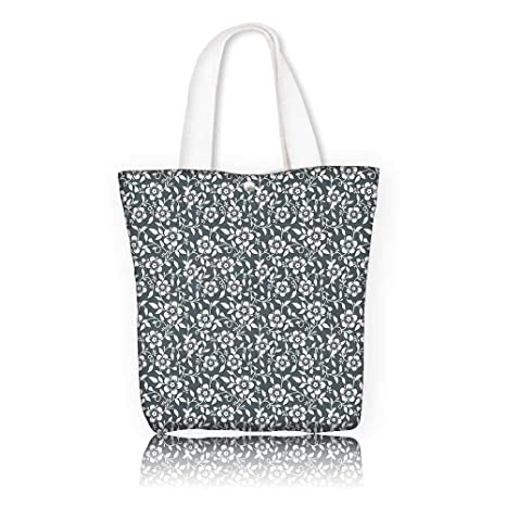 88dbb0d5fb95 Amazon.com: canvas tote bag -W15 x H14 x D4.7 INCH/Shopping Travel ...