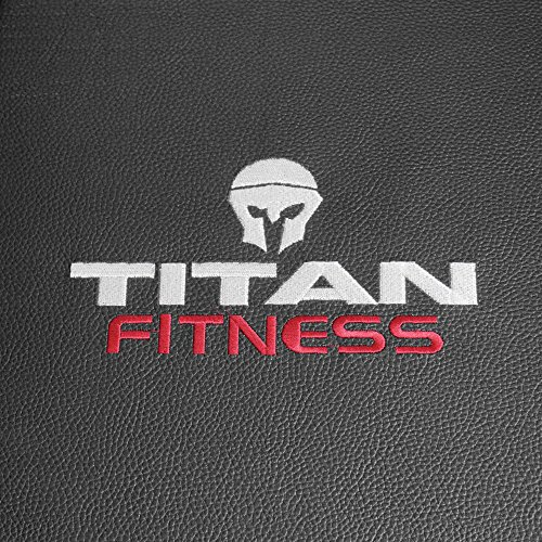 Titan Fitness Adjustable Flat Incline Weight Bench 650 lb Rated Capacity by Titan Fitness (Image #5)