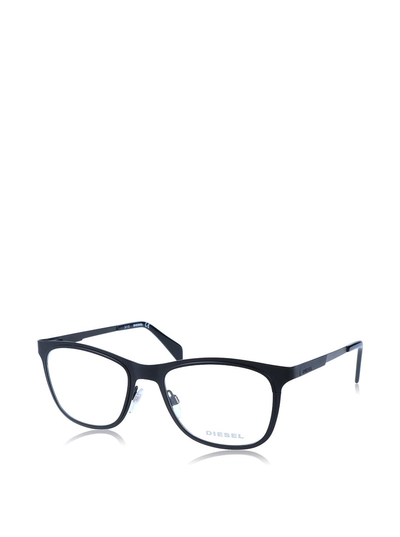 Silver Diesel Rx Eyeglasses Frames DL5139 002 53-19-145 Matte Black