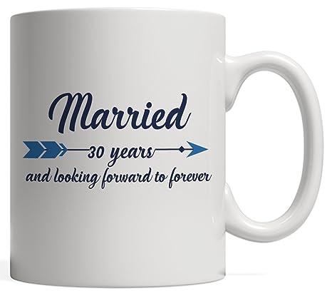 Amazon.com: Married para 30 treinta años y mirando hacia ...