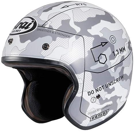 Arai Freeway 2 Scooter Clásico Open face casco de moto mando color blanco