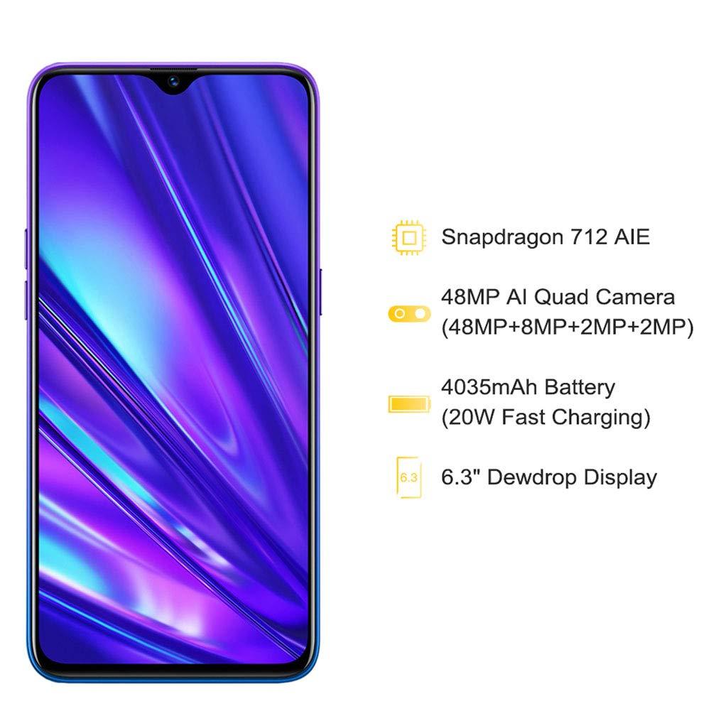 realme 5 Pro 4GB 128GB Smartphone M/óviles Verde Versi/ón EU Dual Sim 6.3  Snapdragon 712AIE Octa Core 48MP AI Quad Camera 4035mAh