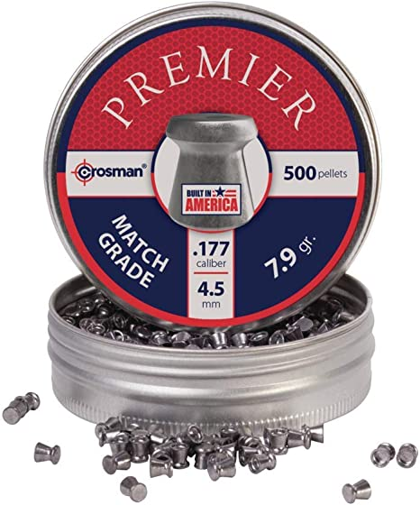 victory STRIKE POINTED .177 air rifle pellets x 500 tin