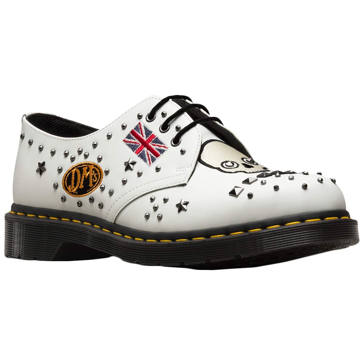 Dr. Martens Blanc 1461 Rockabilly Chaussures DR MARTENS