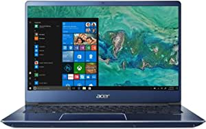"Acer Swift 3 SF314-54G-5281(Blue) Laptop8th Generation Intel Core i5-8250U Processor ,14"" FHD IPS Narrow Bezel LED-backlit Display ,2*4GB DDR4 RAM ,128GB SSD + 1TB HDD ,GeForce MX150 2G GDDR5, Blue"