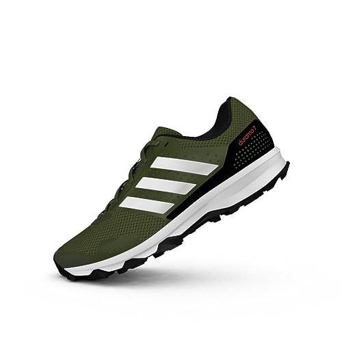 pick up 1840e 5cbf8 adidas Duramo 7 Trail M, Scarpe da Corsa Uomo, Verde (VerbasVerart