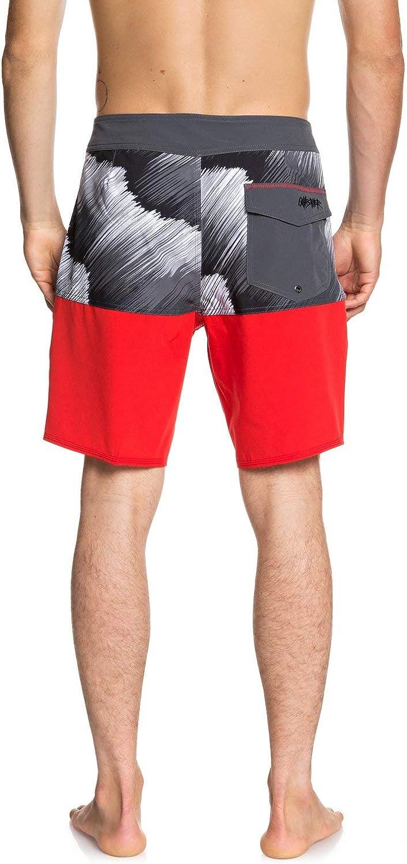 Quiksilver Mens Highline Typhoon 19 Boardshort Swim Trunk Board Shorts