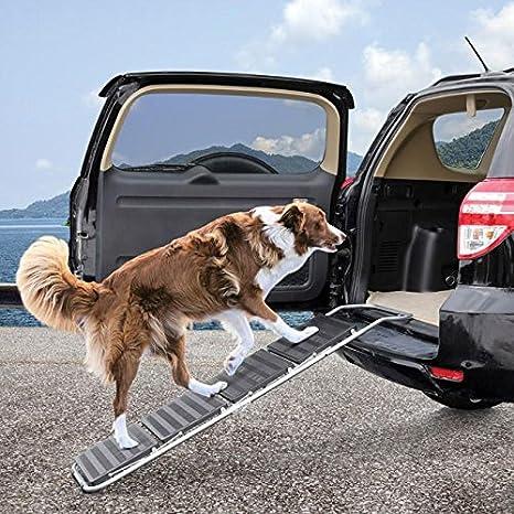 Rampa de coche plegable Pet Pasos Escaleras sofá cama para perros grandes portátil de viaje: Amazon.es: Productos para mascotas