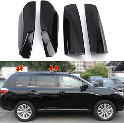 Factory Style Black Roof Rack Fits 2008-2013 Toyota Highlander