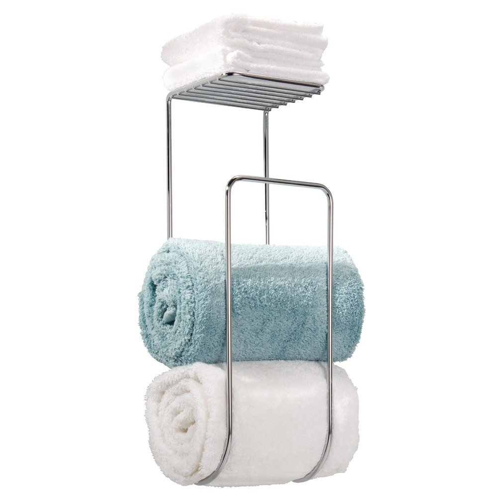 Amazon.com: InterDesign Classico Wall Mount Hand Towel Holder for ...