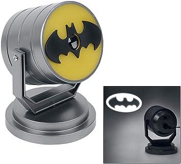 Amazon.com: Batman emblema Proyector Luz De Estado De Ánimo ...