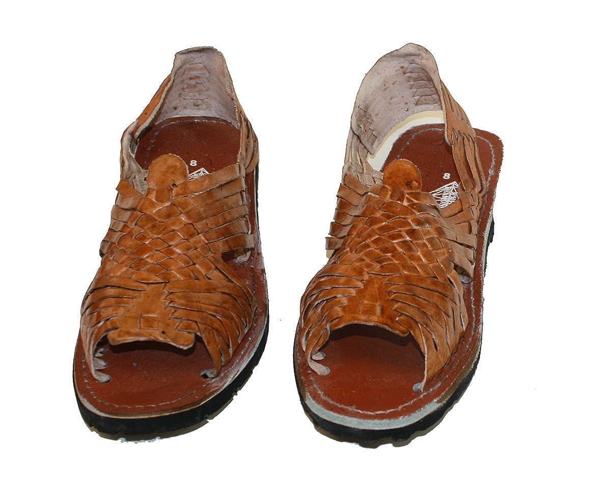 b0cfb3dcbd701 Amazon.com  MEXICAN SANDALS-Men s Genuine Leather Quality Handmade Sandals  Huarache  Clothing