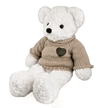 Amazon Com Perfect Memorials Large Teddy Bear Cremation Urn White