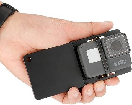Adaptador de aleación de aluminio mini trípode Montaje Set para GoPro Hero 7 6 5 Yi Cámara
