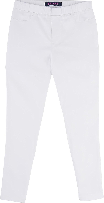 French Toast School Uniform Girls Skinny FIT Pull On Twill Pants