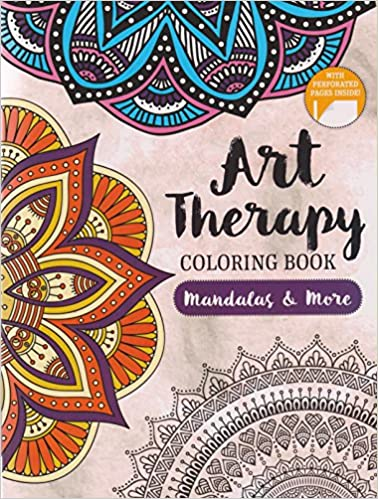 Art Therapy Coloring Book Mandalas More Amazon Com Books