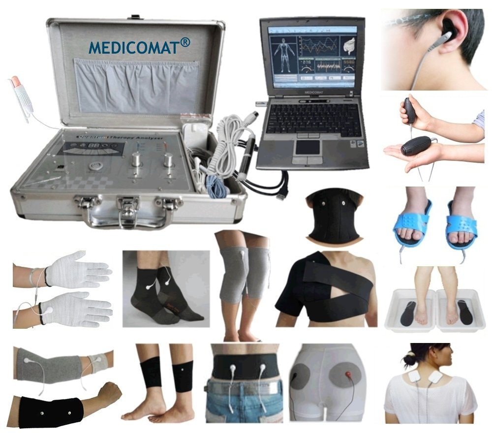 Whole Health Analyzer and Treatment Computer Accessories Medicomat-29U Arthritis Relief Knee Hands Foot Elbow Neck Gadgets