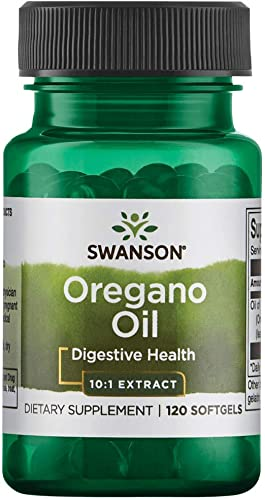 Swanson Oregano Oil 10 1 Extract 150 Milligrams 120 Sgels