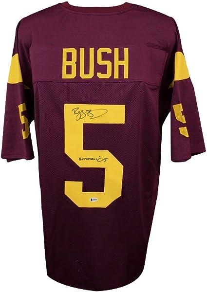 Reggie Bush Autographed USC Custom