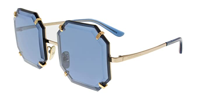 ee60c8bcc844 Amazon.com  Dolce   Gabbana Women s 0DG2216 Gold Blue One Size  Clothing