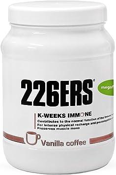 226ERS K-Weeks Immune | Proteína Whey Isolate para Fortalecer el Sistema Inmune contiene Aminoácidos, Jalea Real, Vitamina B6 y Megaflora 9 EVO, Sin ...