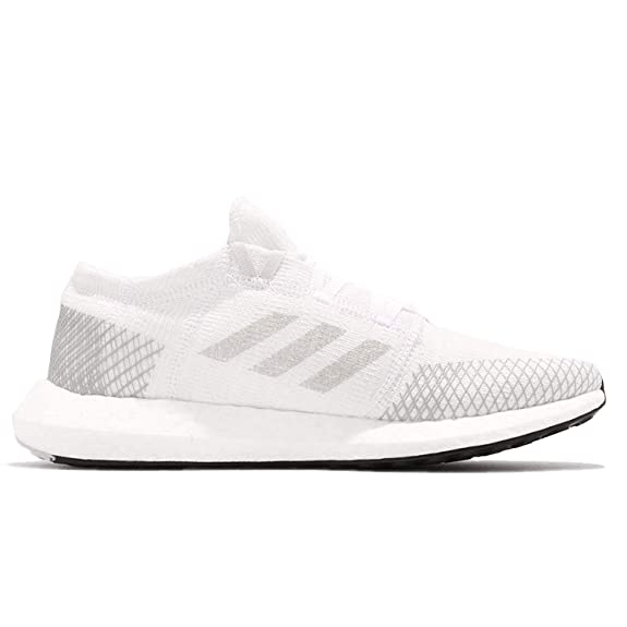 Cloud WhiteLight Solid GreyGrey adidas Womens Pureboost Go