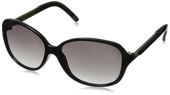 c11a6d51e0 Amazon.com  Foster Grant Women s Luanne Blk Oval Sunglasses