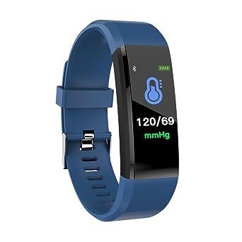 Bellelove Femmes Hommes Intelligent Électronique Poignet Gadgets Smart montre Bande Sommeil Sport Fitness Podomètre Bracelet Montre