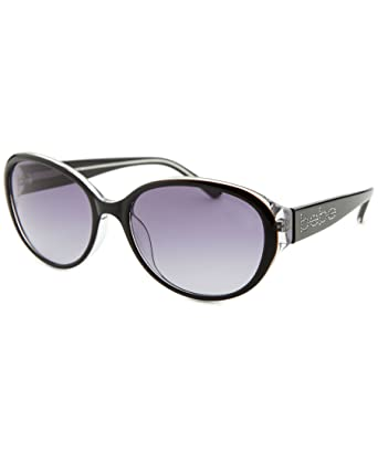 edd8d9c81a8 Image Unavailable. Image not available for. Color  Bebe sunglasses 7124 Jet  Crystal 001