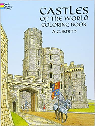 Castles of the World Coloring Book (Dover History Coloring Book ...