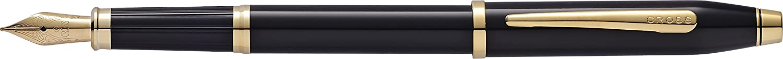 Cross Century II 419-1MF - Pluma estilográfica con detalles en oro de 23 K, color negro https://amzn.to/2OUUzQt