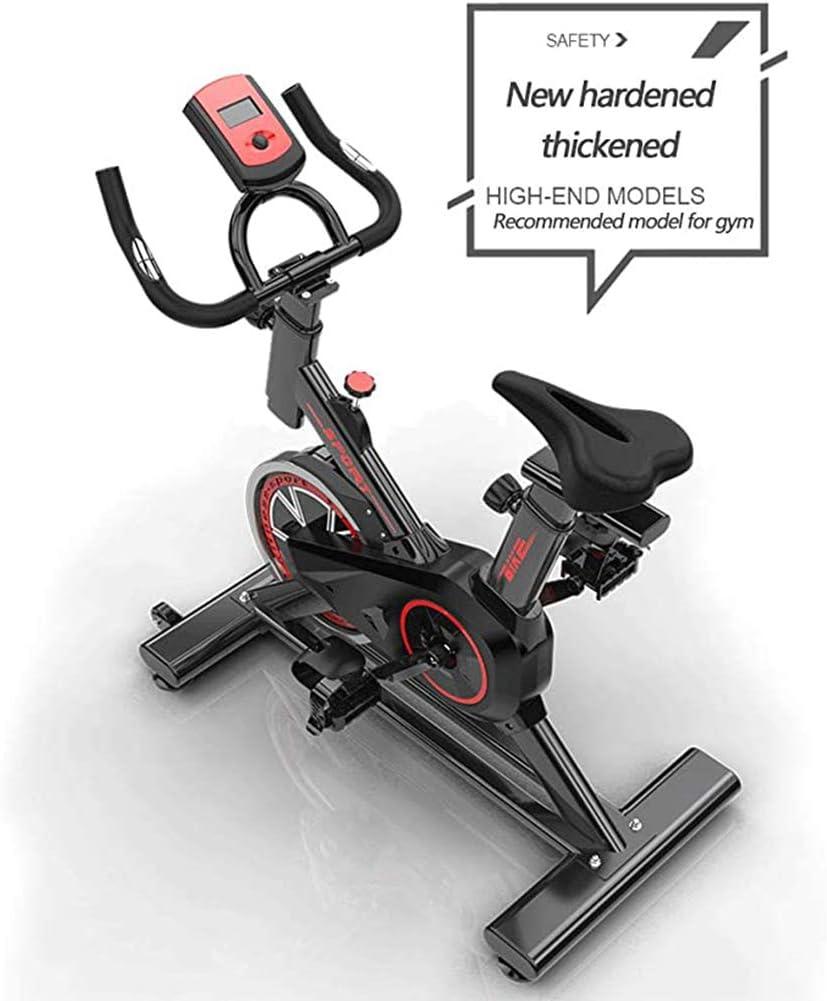 YourBooy V/élo Dint/érieur Professionnel avec Support De Bras Volant 22 Kg Speedbike Compatible avec Ceinture /À Impulsions Ergom/ètre Jusqu/à 100 Kg