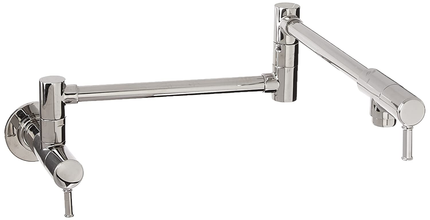Hansgrohe 04218830 Talis C Pot Filler Wall Mounted, Polished Nickel Finish