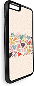 Romantic Printed Case for iPhone 6s