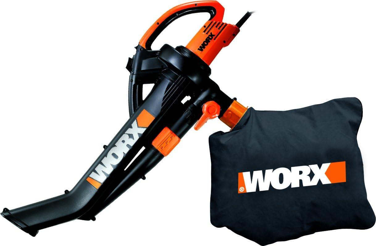 WORX M120756 - Aspirador soplador triturador wg500e 2500w: Amazon ...
