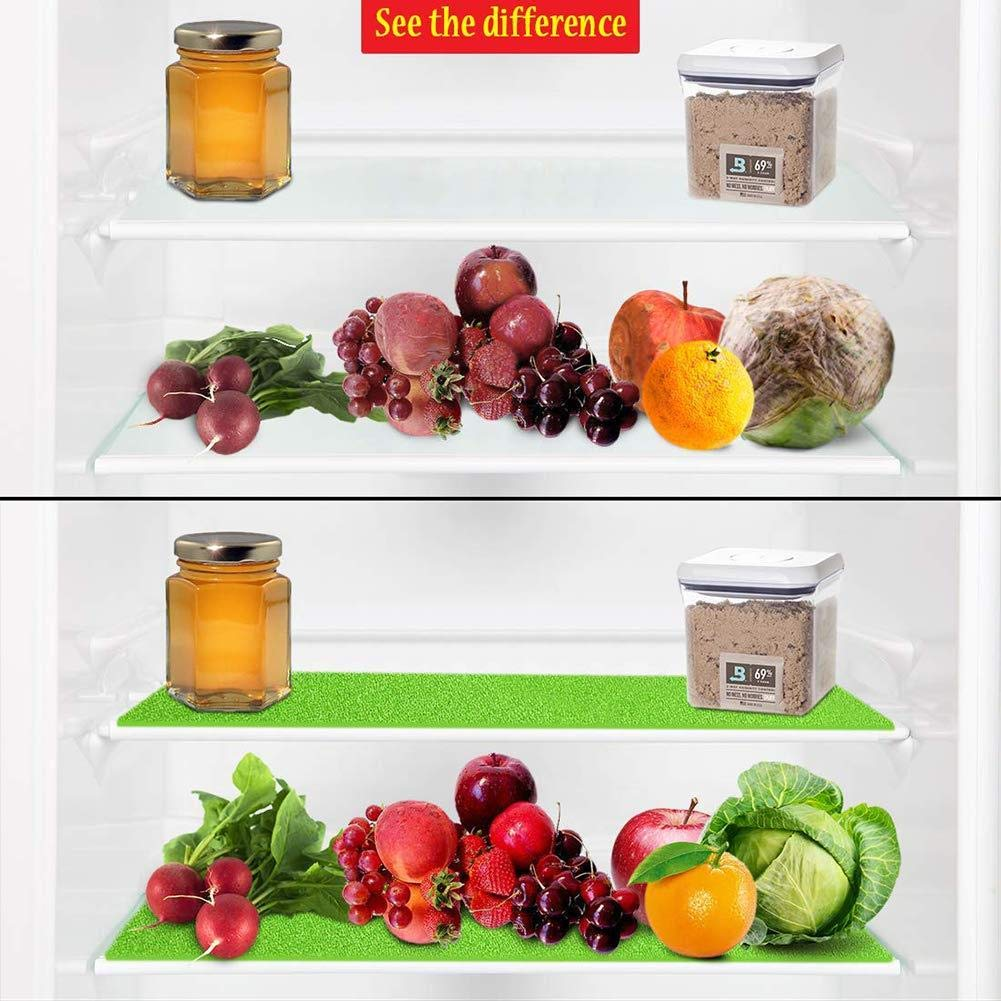 Washable Moistureproof Waterproof Placemats Chen0-super Refrigerator Mats Antibacterial antifouling Mildew Moisture Preserving Pad Kitchen Vegetables Fruits Fresh Pads
