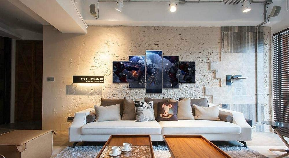 WEPAINT Kerrigan StarCraft Juego 5 piezas Impresión en HD Juego de pintura para el hogar Arte de la pared Arte de la lona Para vivir Arte de la pared Pintura Moderna decorativa