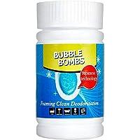 HONG98- Limpiador Espuma Potente Limpiador de WC para Inodoro, lavaplatos/Limpiador Tanques De Inodoro Blanqueador…
