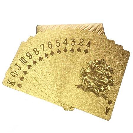 Conjunto de juguete Paquete de color dorado de 2 tarjetas ...